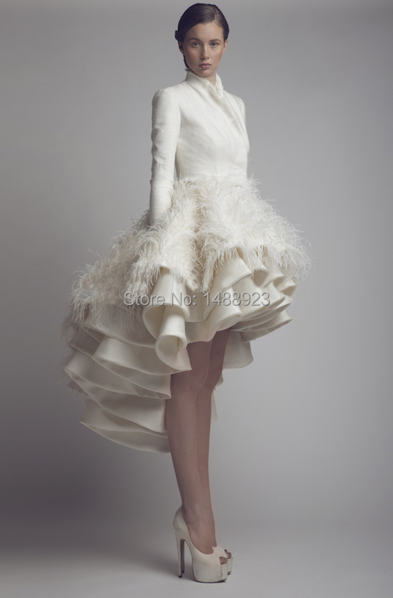 modasaopaulo.com | 2014 Hot Sales Short Wedding Dresses High Neck ...