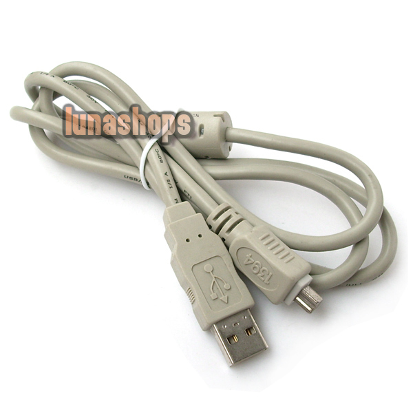 USB to IEEE 1394 4 pin Firewire i-Link DV Cable PC LN000767(China (Mainland))
