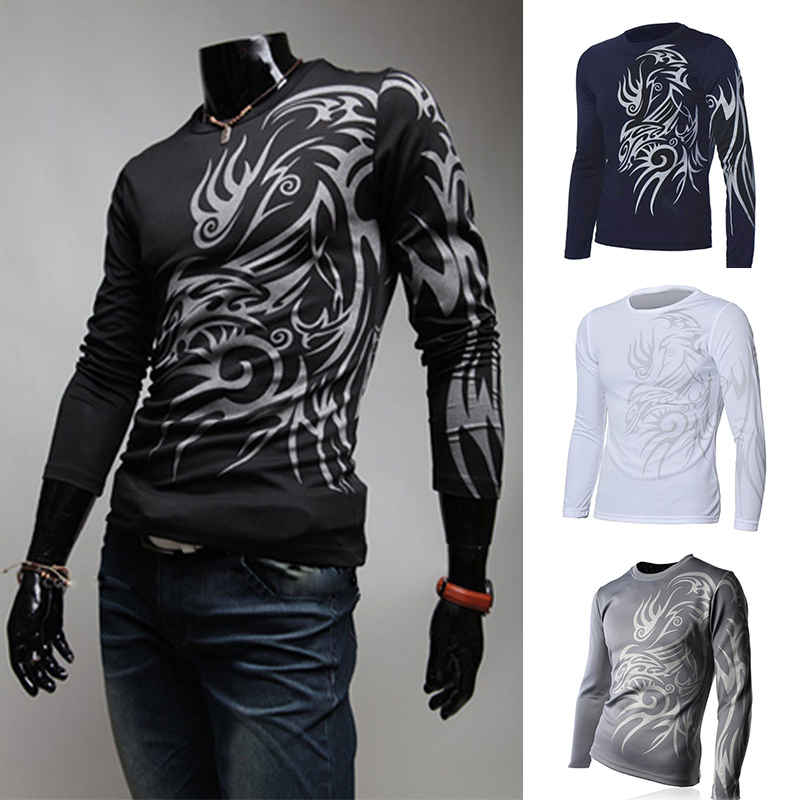 Compare prices on full sleeve tattoo shirts online for Tattoo shirts long sleeve