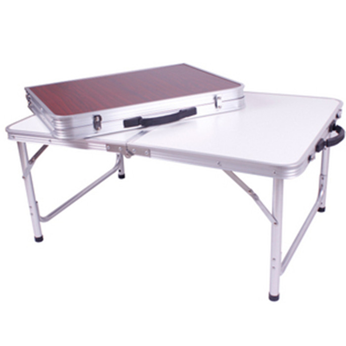 Outdoor Folding Table : Outdoor Aluminum Alloy Folding Camping Table Portable Foldable Picnic ...