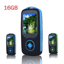 2016 Original RUIZU X06 Bluetooth mp3 Player 16GB High Quality Lossless Sport MP3 Music Player 1.8'' Screen Recorder FM radio