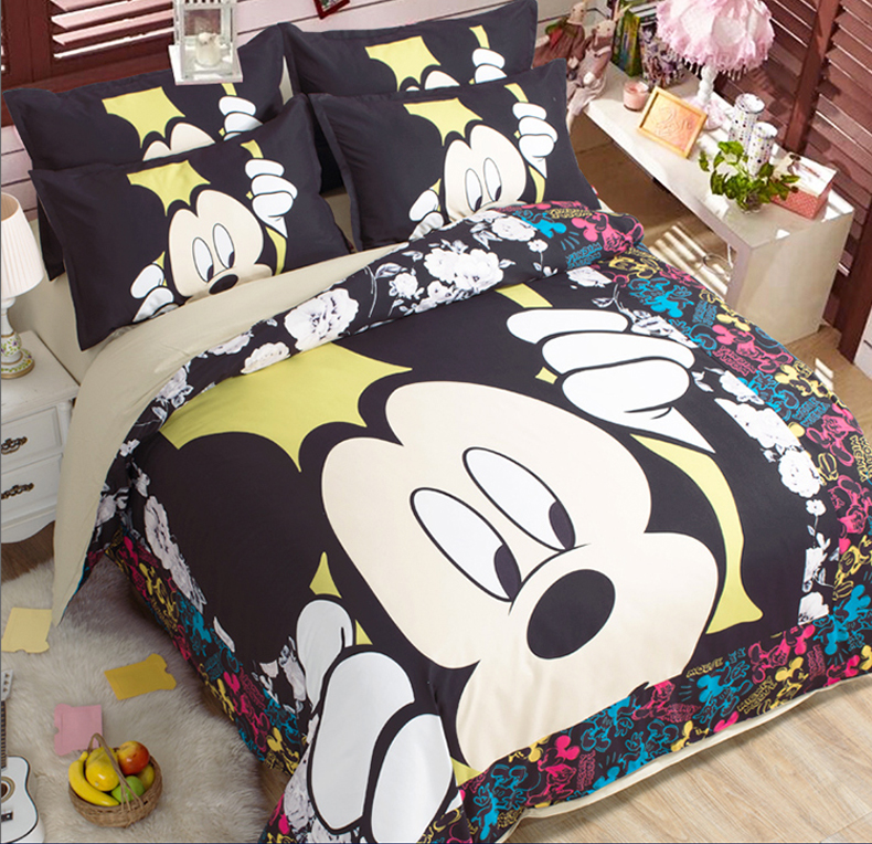 mickey mouse bed sheets king size bedding sets