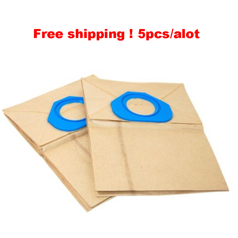 Suitable for NILFISK GA70 GS80 GS90 GM80 GM90 Vacuum DUST BAG parts accessories filter bag x 6(China (Mainland))