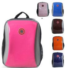 2014 new Children's Orthopedic  plink Fruit color upper leather Light bag school bags & kids backpack 2588(China (Mainland))