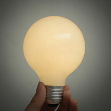 2015 Limited Direct Selling Ce H27 Dragon Ball Warm Light Bulb Frosted Glass Screw Cap Artistic ikea Generous Lighting(China (Mainland))