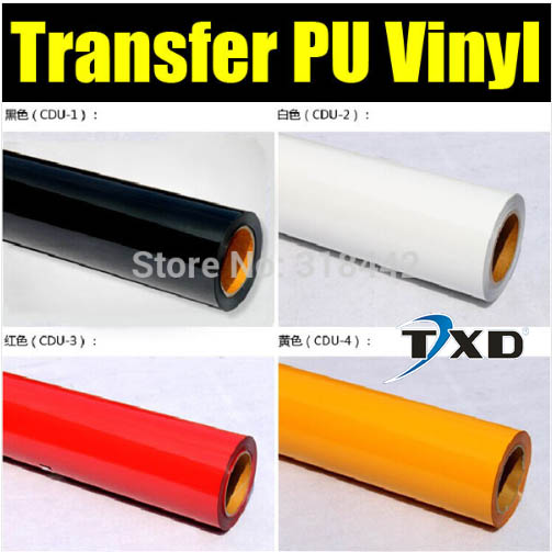 Free shipping PU Heat Transfer Film and Heat Transfer Thermo Film For Garment 50x100cm in one lot(China (Mainland))