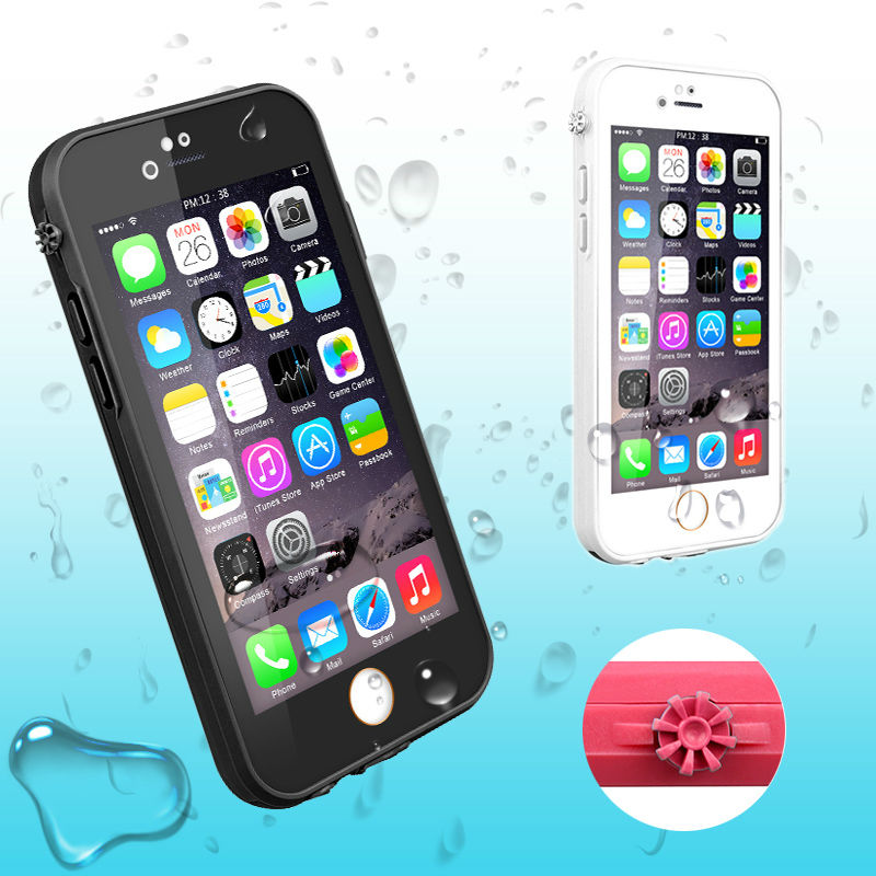WaterProof Phone Case for iPhone 6 s 6s Plus 6Plus Cover Coque Water Resistant ShockProof Life