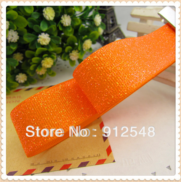 "New Free shipping 7/8 ""(22MM) 10 Code 1 package hot monochrome fluorescent ribbons DIY,MDYG011(China (Mainland))"
