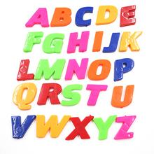 Vente chaude Alphabet lettre signe réfrigérateur tableau blanc aimant autocollant bébé jouet éducatif magnétique aimants décor à la maison(China (Mainland))