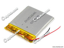 3.7V JK053846 053846P 503846P Lipo Lithium Polymer Rechargeable Battery Tablet PC MP3 MP4 Netbook Model Airplane Racing Car(China (Mainland))