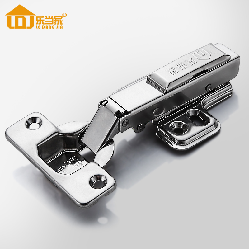 Stainless Cabinet Hinges for Kitchen Furniture Hardware Cabinet Door Cupboard Brass Hydraulic Gas Spring Damper Soft Close,Fixed(China (Mainland))