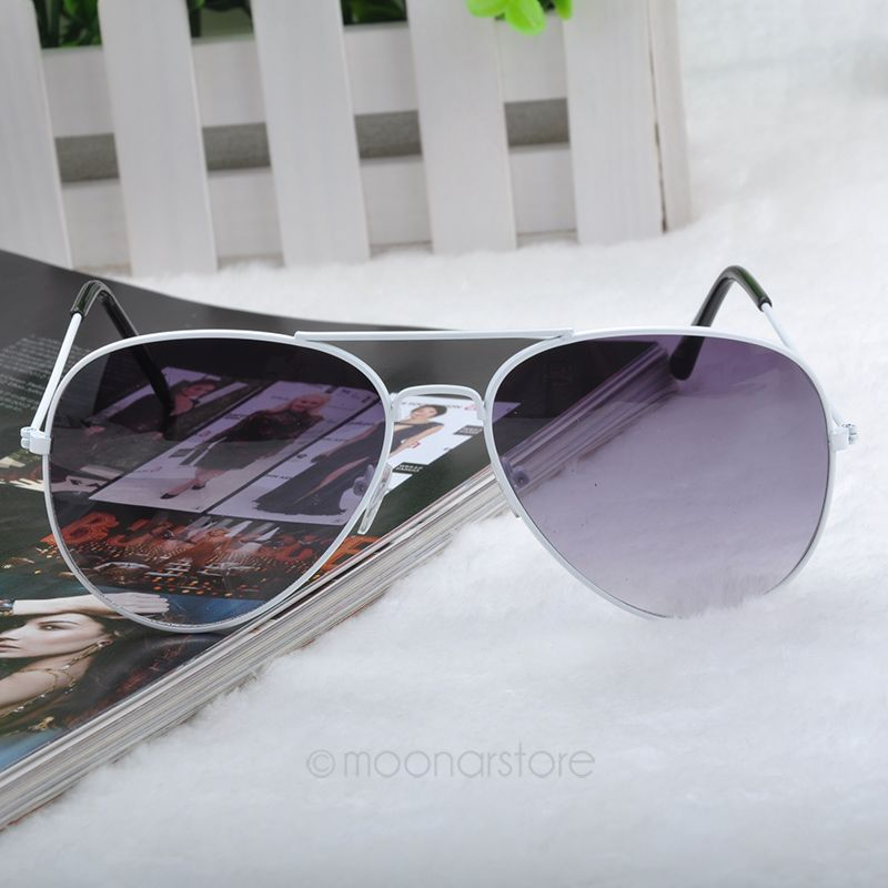 New Arrive Fashion Summer Cool Sunglasses Men Women Girls Cool Bat Mirror UV Protection Aviator Sun