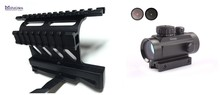 Buy MIZUGIWA Tactical AK Double Side Rail Mount Quick QD 20mm+Tactical Green Red Dot Riflescope Sight 30mm Lens Sight Scope Weaver for $27.20 in AliExpress store