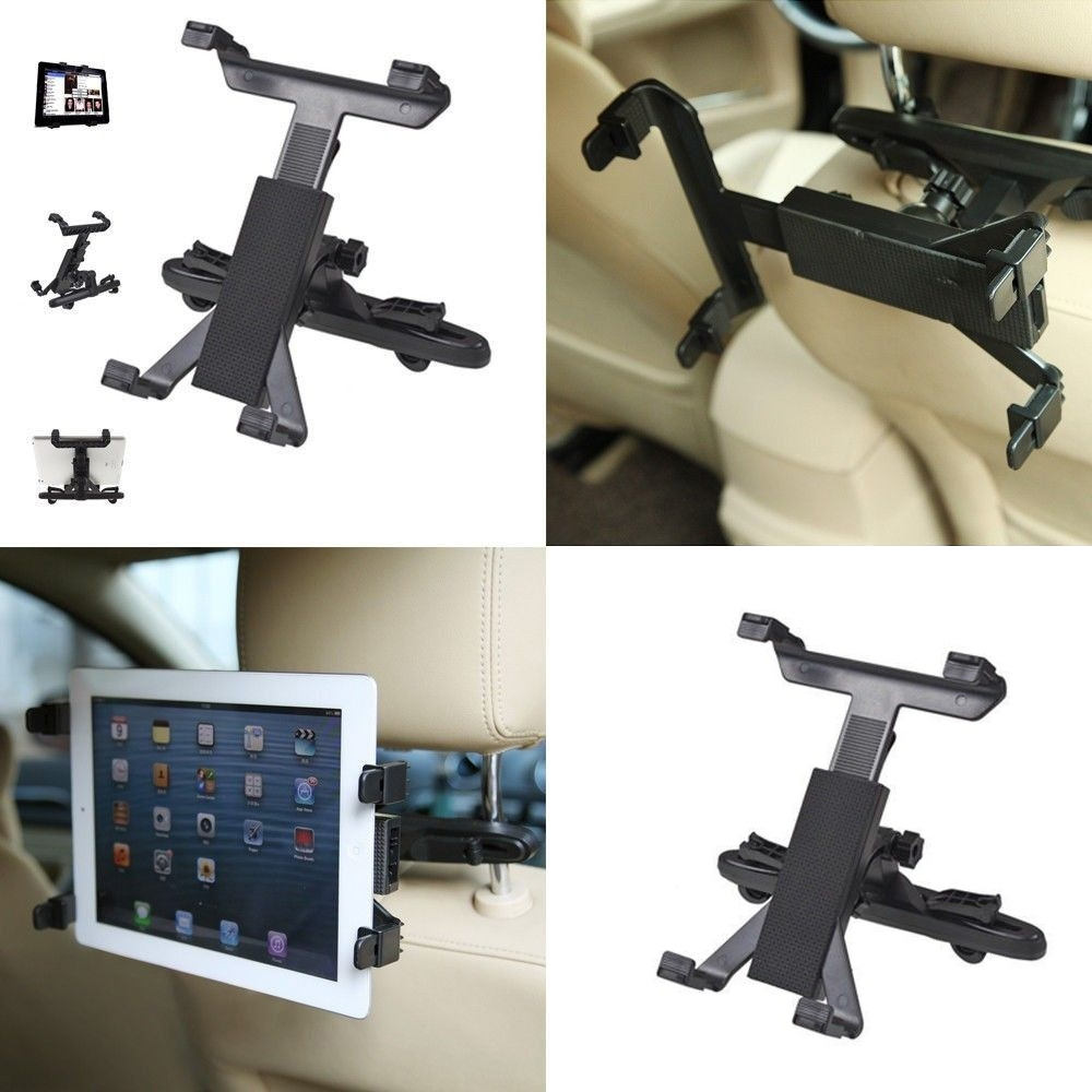 Car Back Seat Headrest Mount Holder For iPad 2 3/4/5 AIR Tablet SAMSUNG Tablet PC Stands Free Shipping(China (Mainland))