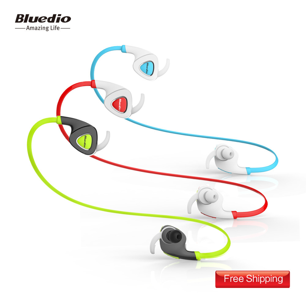 Bluedio Q5 Sports Bluetooth stereo headphones/wireless BT 4.1 headphones/headset Earphones for Sports Gift package(Green)(China (Mainland))