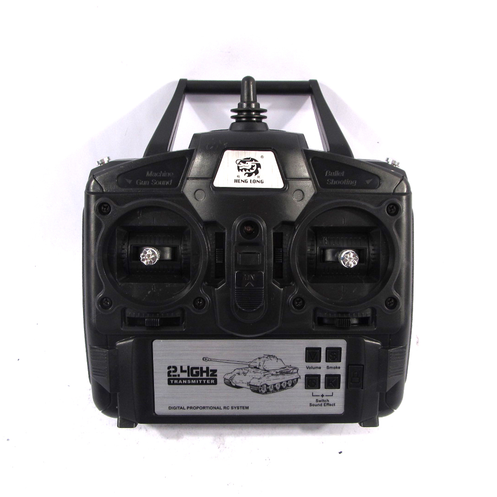 Heng Long Newest 2.4GHz 5.3 Version Controller 2.4GHz transmitter 2.4G remote control unit for 1:16 1/16 all henglong rc tank(China (Mainland))