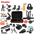 Xiaomi Yi Accessories Set Waterproof Case Protective Border Frame Chest Wrist Belt Head Strap Mount Monopod