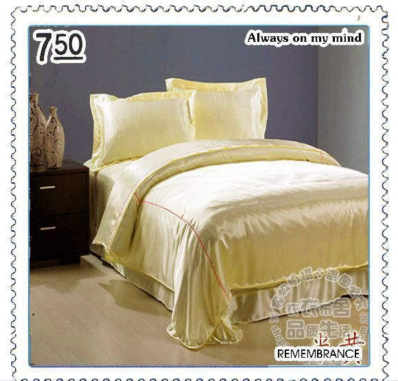 100% mulberry silk quilt bedding a family of four skin care 1.8 m bed Specials(China (Mainland))