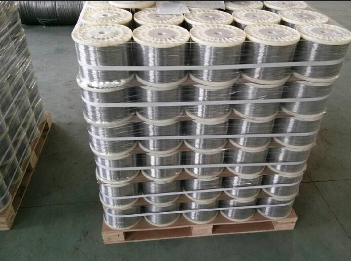 SS316 SS321 SS304 stainless steel spring wire rope bright surface size 0.2mm 1kg(China (Mainland))