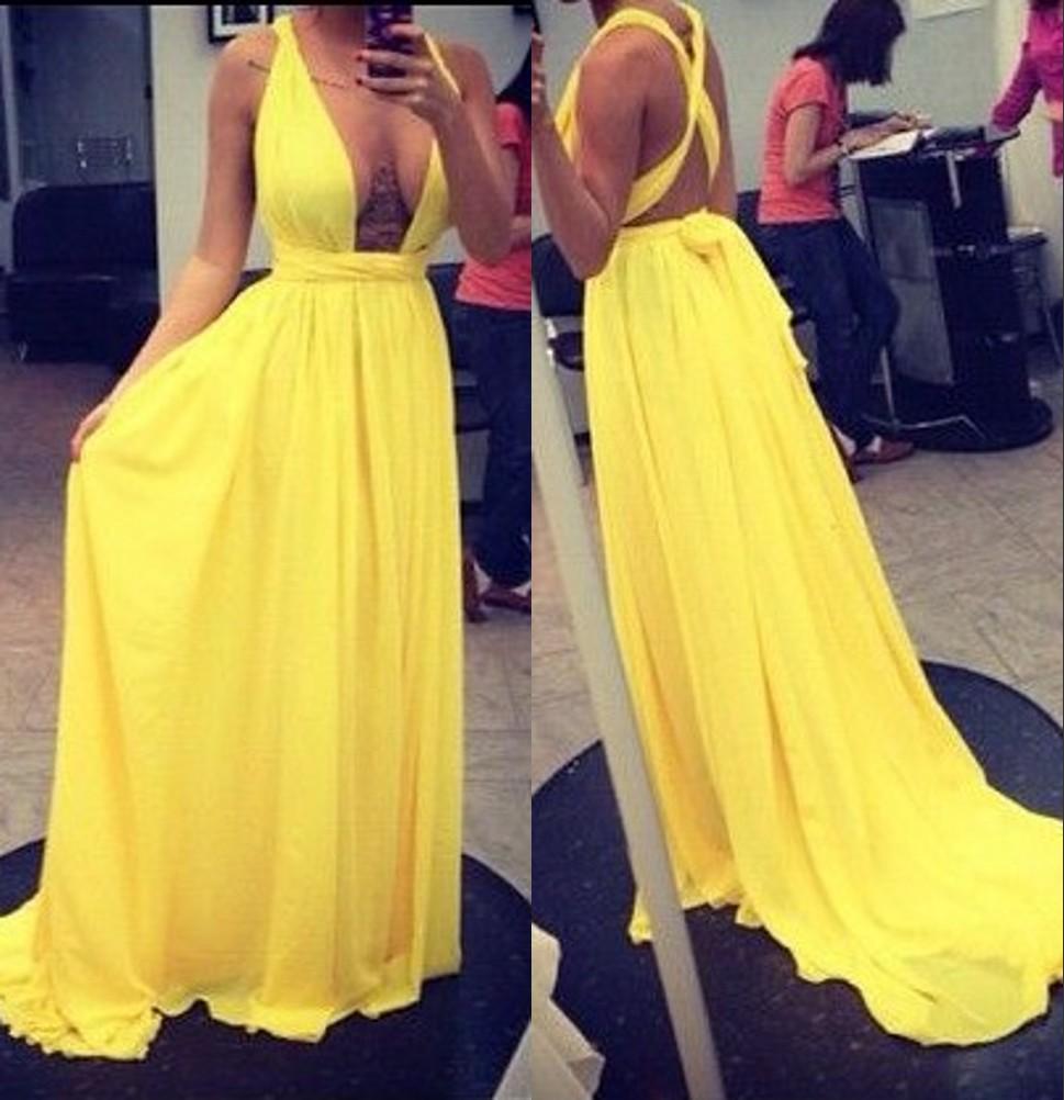 cute long yellow prom dressesprom dressesdressesss