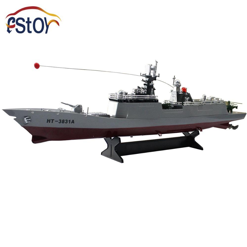 1/275 Scale Radio Remote Control Battleship War ship Boat RC RTR HT3831<br><br>Aliexpress
