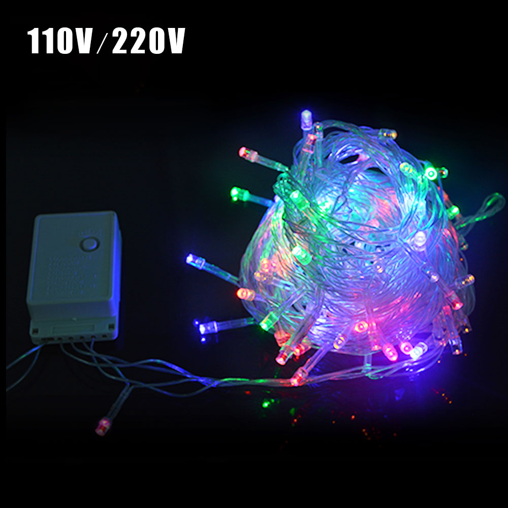 Festival Party String Lights : 1Set 10M 33FT 100% Waterproof LED Holiday String light Christmas Wedding Party Festival Twinkle ...
