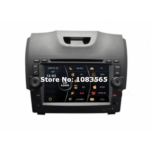 For Chevrolet Trailblazer 2012 - 2013 Car GPS Navigation DVD Player With Radio TV Bluetooth WINCE 6.0 ARM11 Multimedia System(China (Mainland))