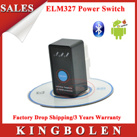 2015 New Super Mini Bluetooth ELM327 OBD2 Diagnostic Scanner With Power Switch Works on Android Symbian Windows ELM 327