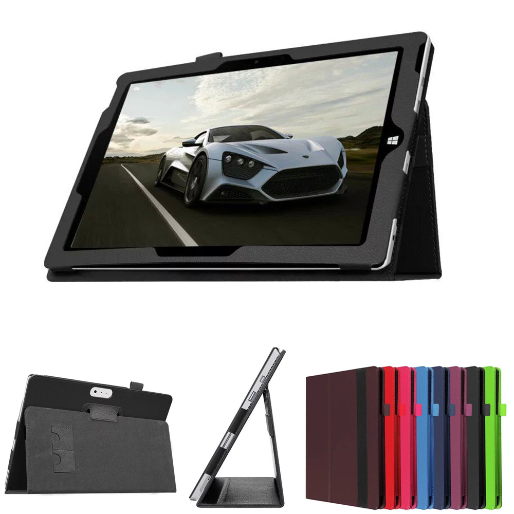 """New Luxury Tablet Leather Case Stand Cover for 10.8"""" Microsoft surface 3 Tablet PC Free Shipping + Tracking Number(China (Mainland))"""