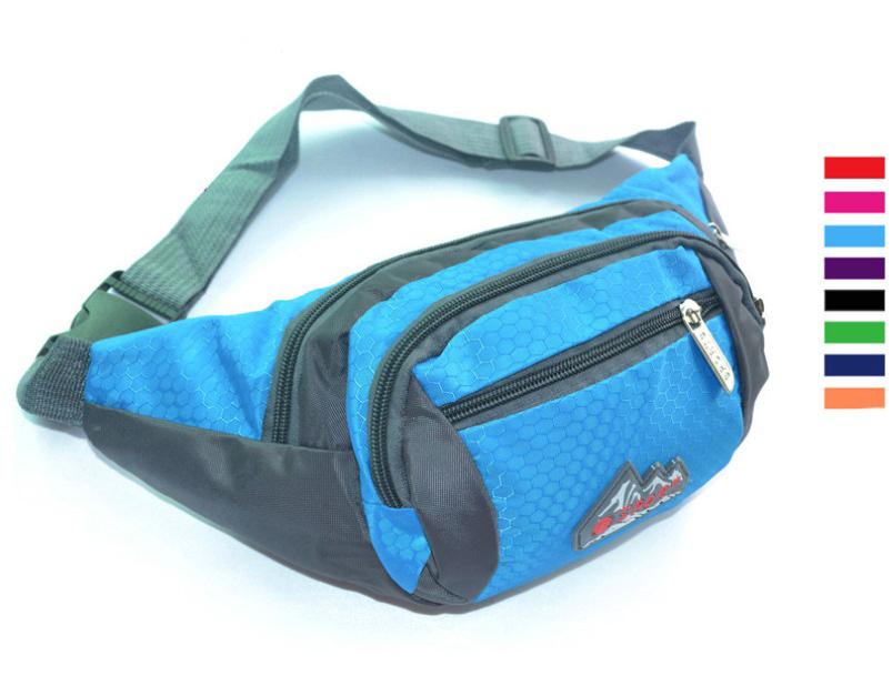 2015 New Sales Outdoor Sports Women/Men Waist Bag Running Waist Pack Nylon Women Waist Pack Bum Bag Hip Money Felt Running Belt(China (Mainland))