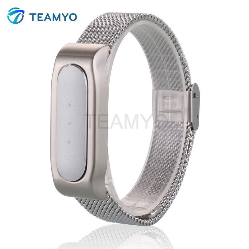 Replace To Xiaomi Mi Band 1S Smart Wristband Metal Strap For Xiaomi Mi Band Bracelet 1S Replacement Band Accessories For Man<br><br>Aliexpress