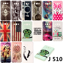 Fashion Design Owl Elephant Flowers Soft Silicone IMD TPU Case Cover Coque Capa Samsung Galaxy J510 J510F J510H J5 2016 - Shenzhen RYG group co., LTD store