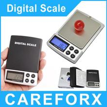 En temporada de vacaciones 200 g x 0.01 g Digital Pocket pesar escala de la joyería balanza Digital joyería báscula Portable del envío libre
