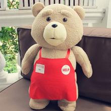 Big Size Teddy Bear From Ted 2 Plush Toys 46CM Hot Soft Stuffed Animal Plush Baby Toys Cute Plush Dolls Brinquedo Bonecas HT2754(China (Mainland))
