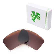 MRY POLARIZED Replacement Lenses for Oakley Eyepatch 1&2 Sunglasses Bronze Brown