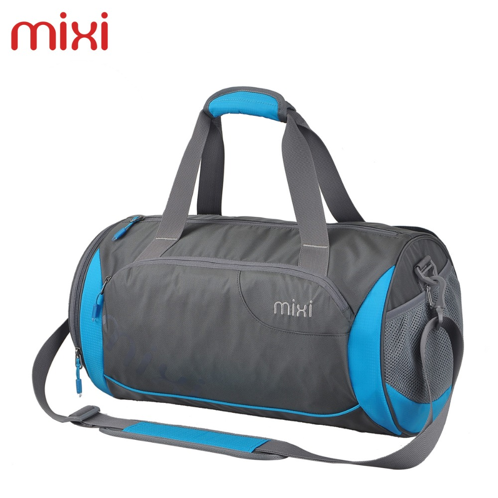 Mixi 2016 New Fashion Unisex Shoulder Gym Tote Men Sport Waterproof Messenger Bags Casual Outdoor Travel Beach Duffle(China (Mainland))