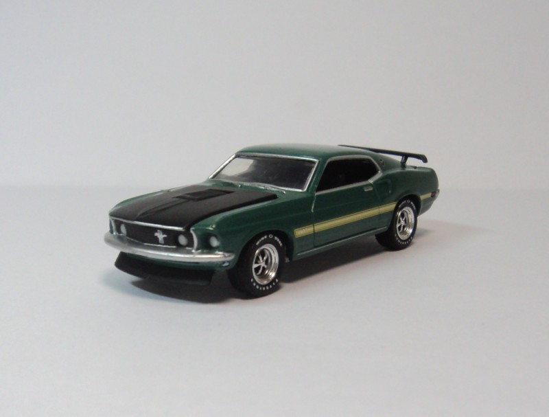 GREENLIGHT 1:64 Ford Mustang Mach 1 1969 Diecast car model(China (Mainland))