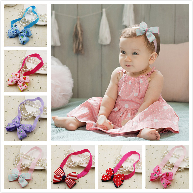 2017 fashion baby hair acessories baby headwear girls headwear sweet princess hairbands girls hairbands(China (Mainland))