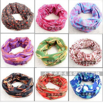 Outdoor Riding men scarf seamless scarf ring sunscreen magic scarf multifunctional bandanas sunscreen muffler unisex scarves