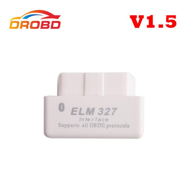 New Arrival Code reader Diagnostic Tool Super mini ELM327 Bluetooth OBD-II OBD Can 1.5 version