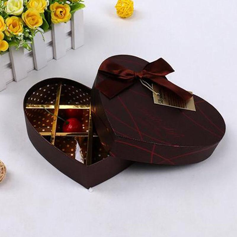 10 holes Case Paper Candy Packaging Chocolate Boxes Chocolate Ribbon Chocolate Paper box Valentine Candy Packaging Gift box 45(China (Mainland))