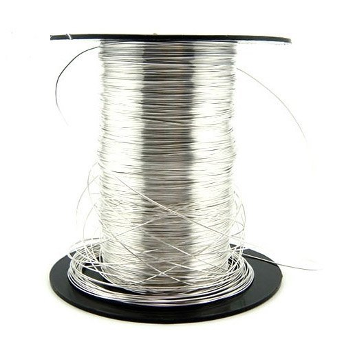 Free Shipping 5meters/lot 925 Sterling Silver Wire 0.3mm XS006