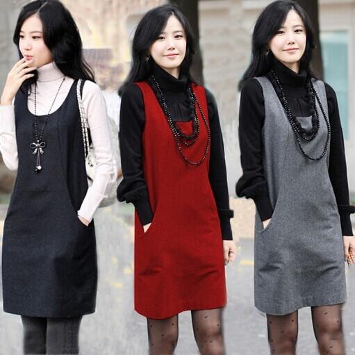 Женское платье Women winter and autumn dress xxxl SY2347 New 2014 plus size women vintage dresses