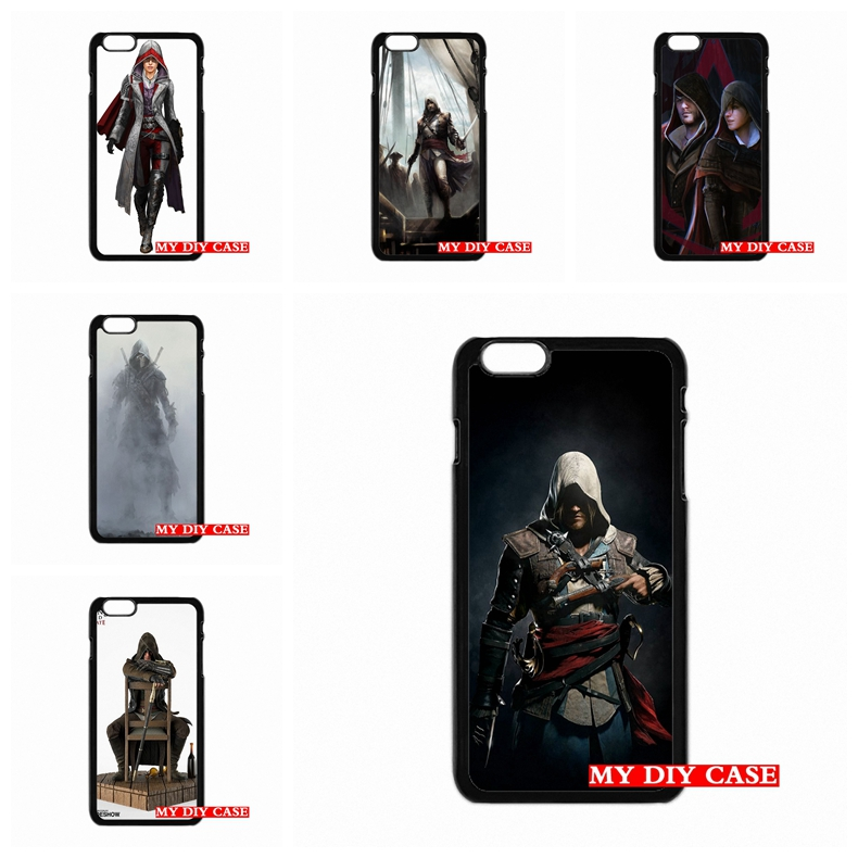 case Accessories Assassin's Creed Assassin For LG G2 G3 G4 iPhone SE 4 4S 5S 5 5C 6 6S Plus HTC One M7 M8 M9 iPod Touch 4 5 6(China (Mainland))