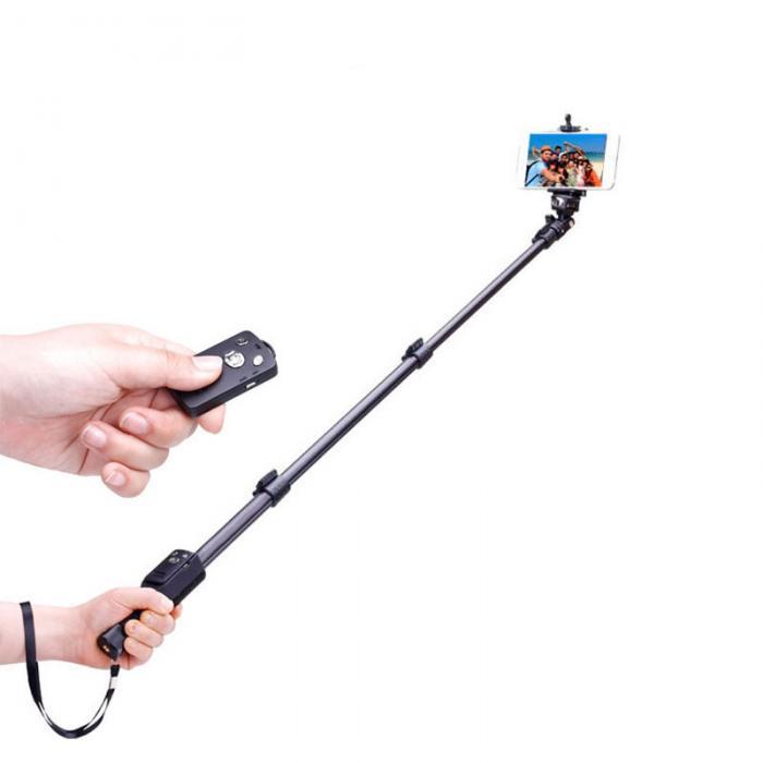 New Phone Selfie Stick Bluetooth Extendable Handheld Tripod Monopod For iPhone Samsung Gopro DSLR Camera GDeals