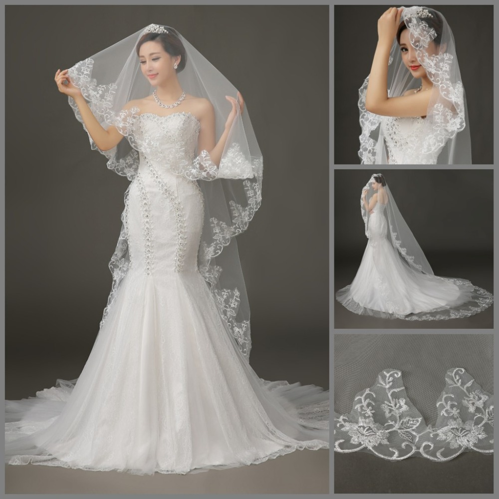 Short wedding dresses with long veils wedding dresses in jax for Long veil wedding dresses