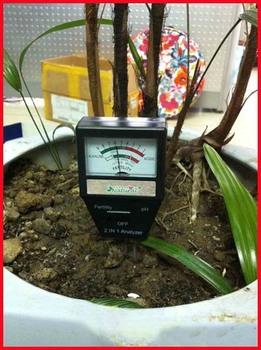 Free Shipping 2 in 1 Analyzer - Garden Soil Fertility+PH Meter - Tester