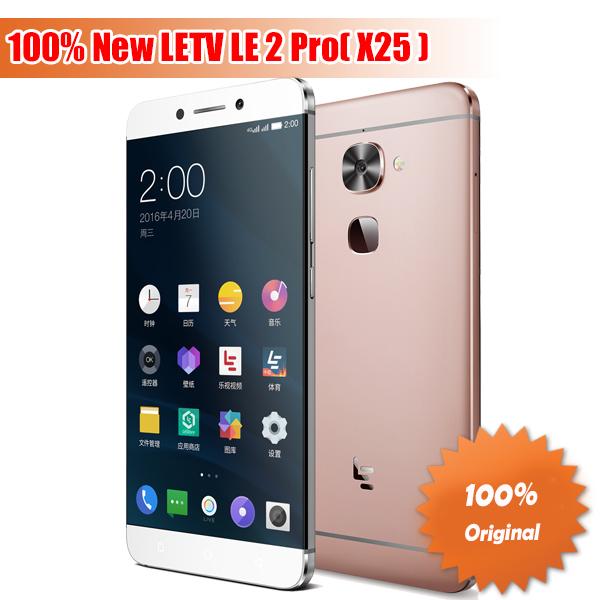 "Original Letv LeEco Le 2 Pro X25 FDD LTE Cell Phone MTk Helio X25 Deca Core 5.5"" 4GB RAM 32GB ROM Fingerprint 21.0MP Camera(China (Mainland))"