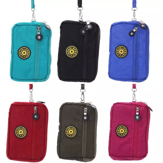 New Arrived Multi Phone Model Three Zipper Multi-Functional Leisure Phone Package Case For htc one dual sim(China (Mainland))