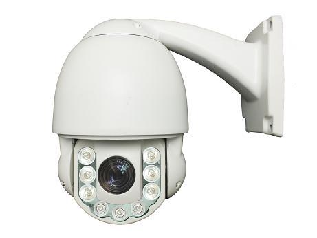 "4"" Dome 10X Zoom 2.0 Megapixel Mini IP PTZ Outdoor IR Surveillance Camera 2mp 1080p(China (Mainland))"
